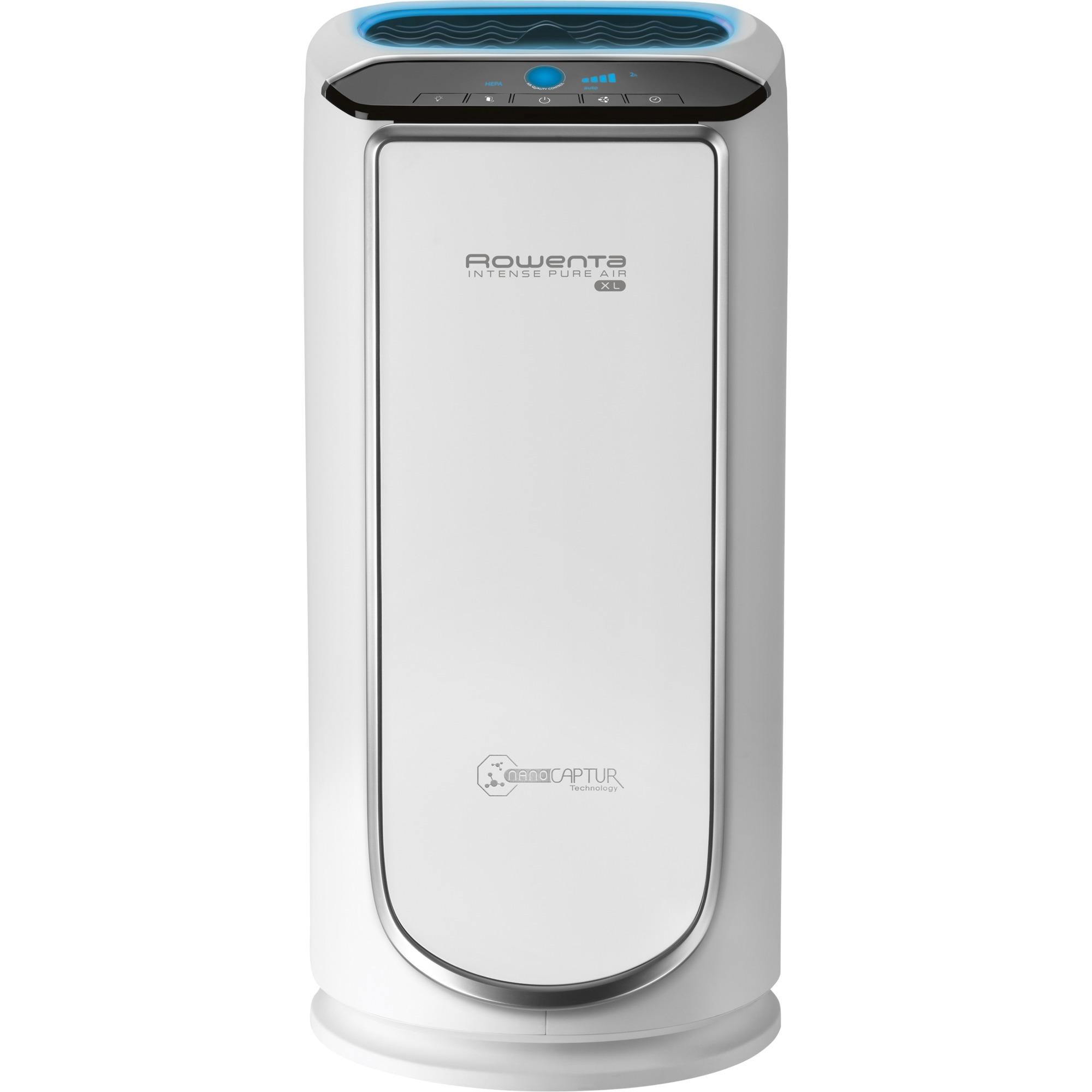 Intense PU6020 purificador de aire 80 m2 52 dB Plata, Blanco 75 W