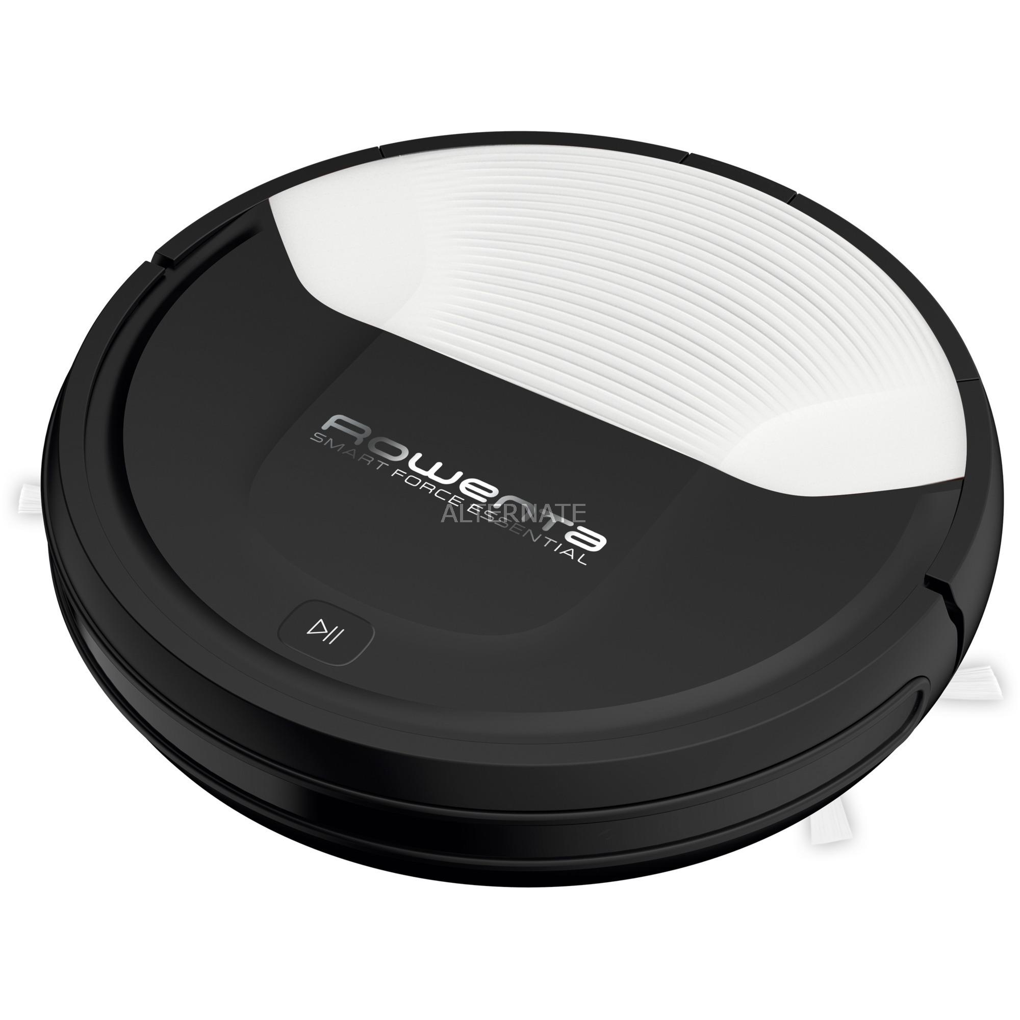 Smart Force Essential RR6927 aspiradora robotizada Sin bolsa Negro, Blanco 0,25 L, Robot aspirador