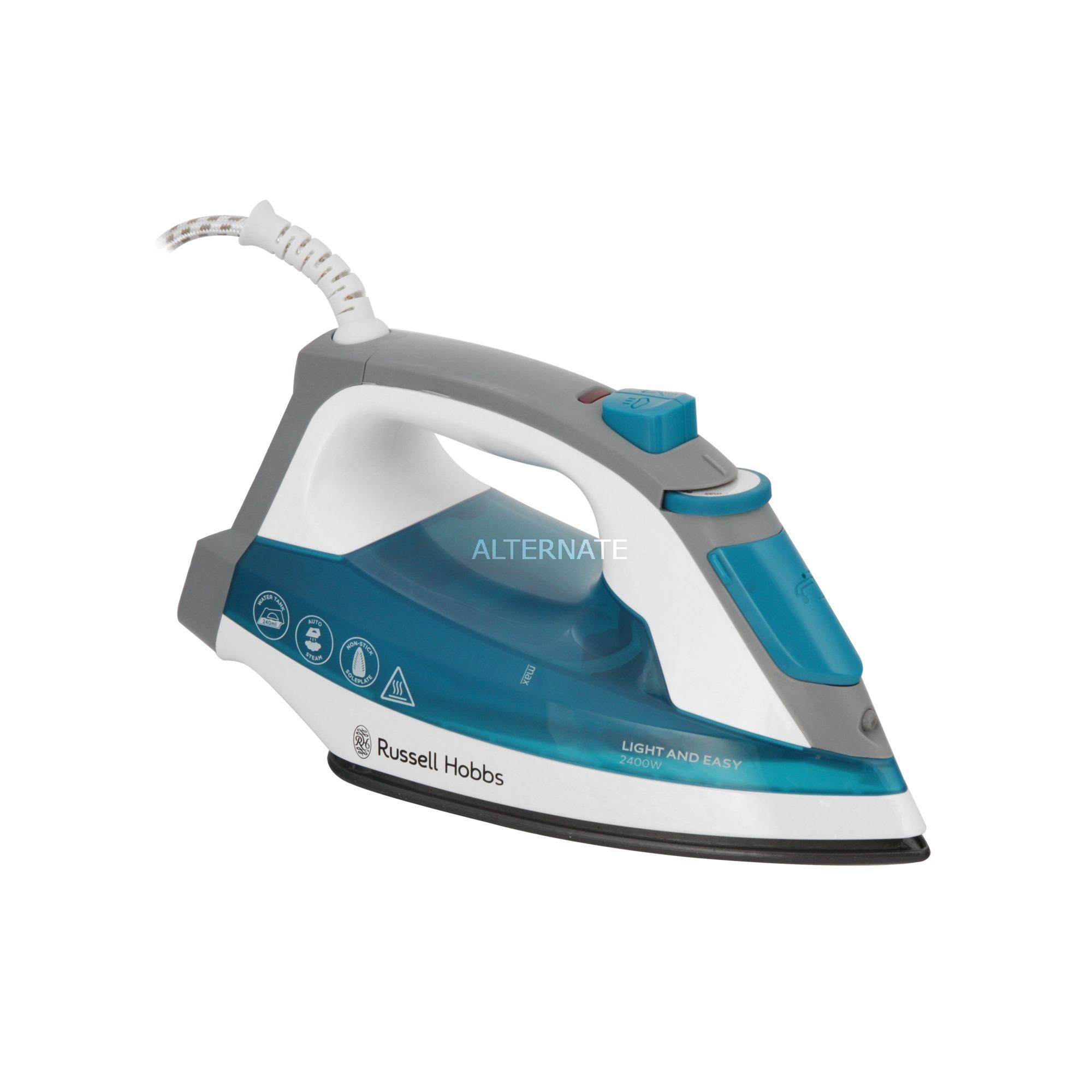 23590-56 plancha Plancha vapor-seco Azul, Blanco 2400 W, Plancha a vapor