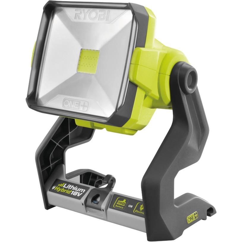 R18ALH-0 25W LED Gris, Color blanco Proyector, Foco de obra