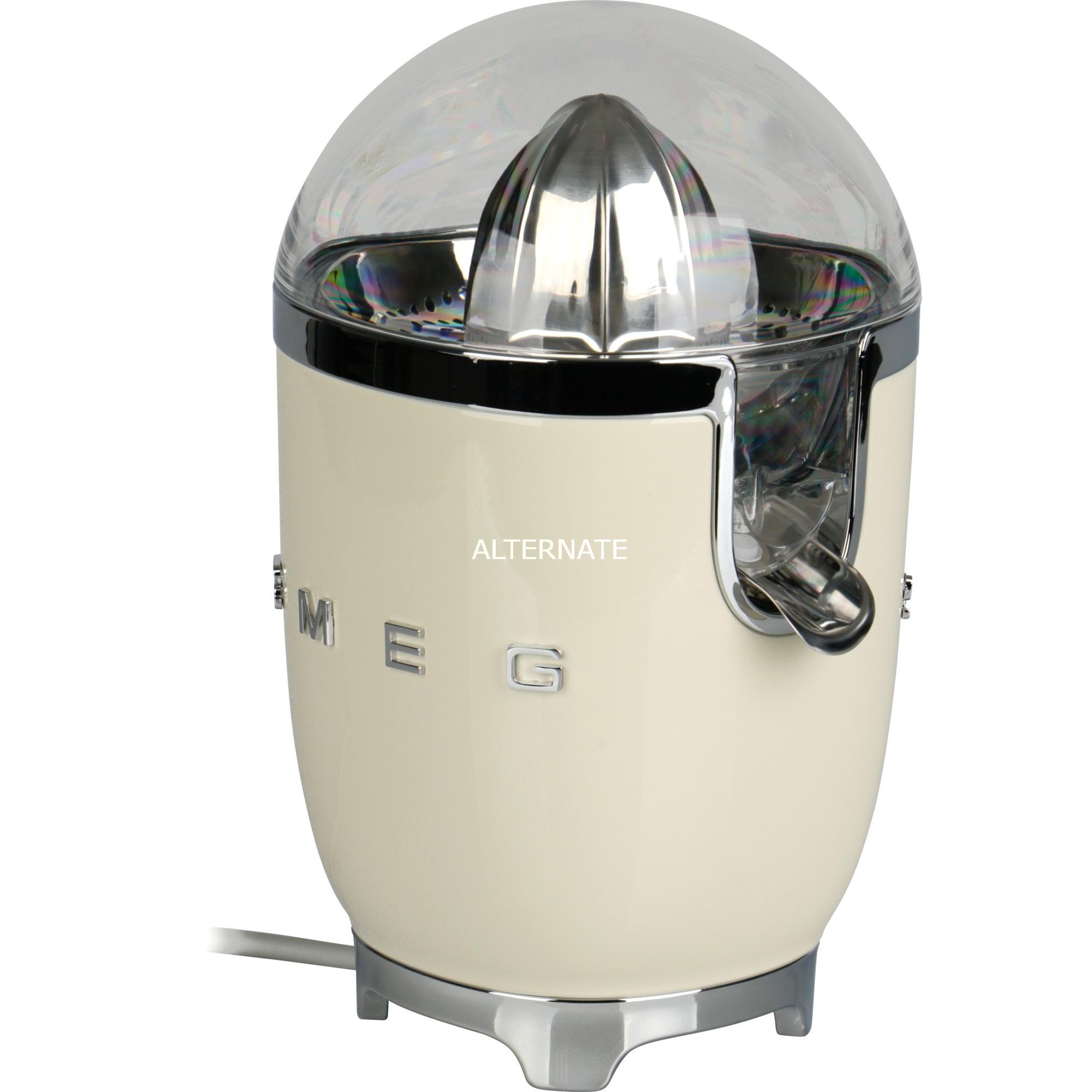 CJF01CREU prensa de cítricos eléctricos Crema de color 70 W, Exprimidor