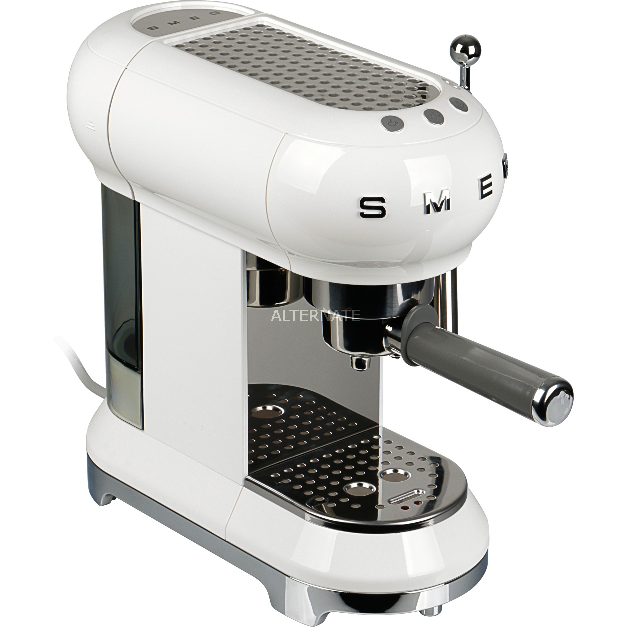 ECF01WHEU cafetera eléctrica Encimera Máquina espresso 1 L Semi-automática, Cafetera espresso