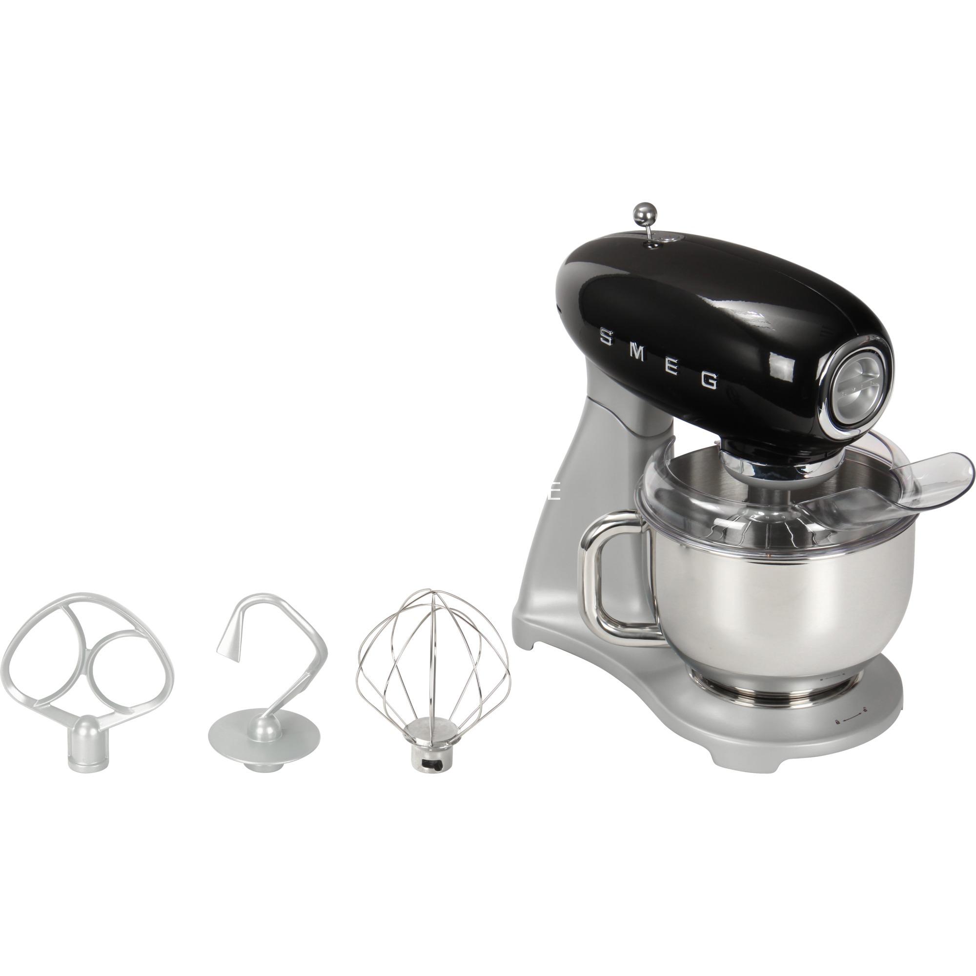 SMF01BLEU batidora Batidora de varillas Negro 800 W, Robot de cocina