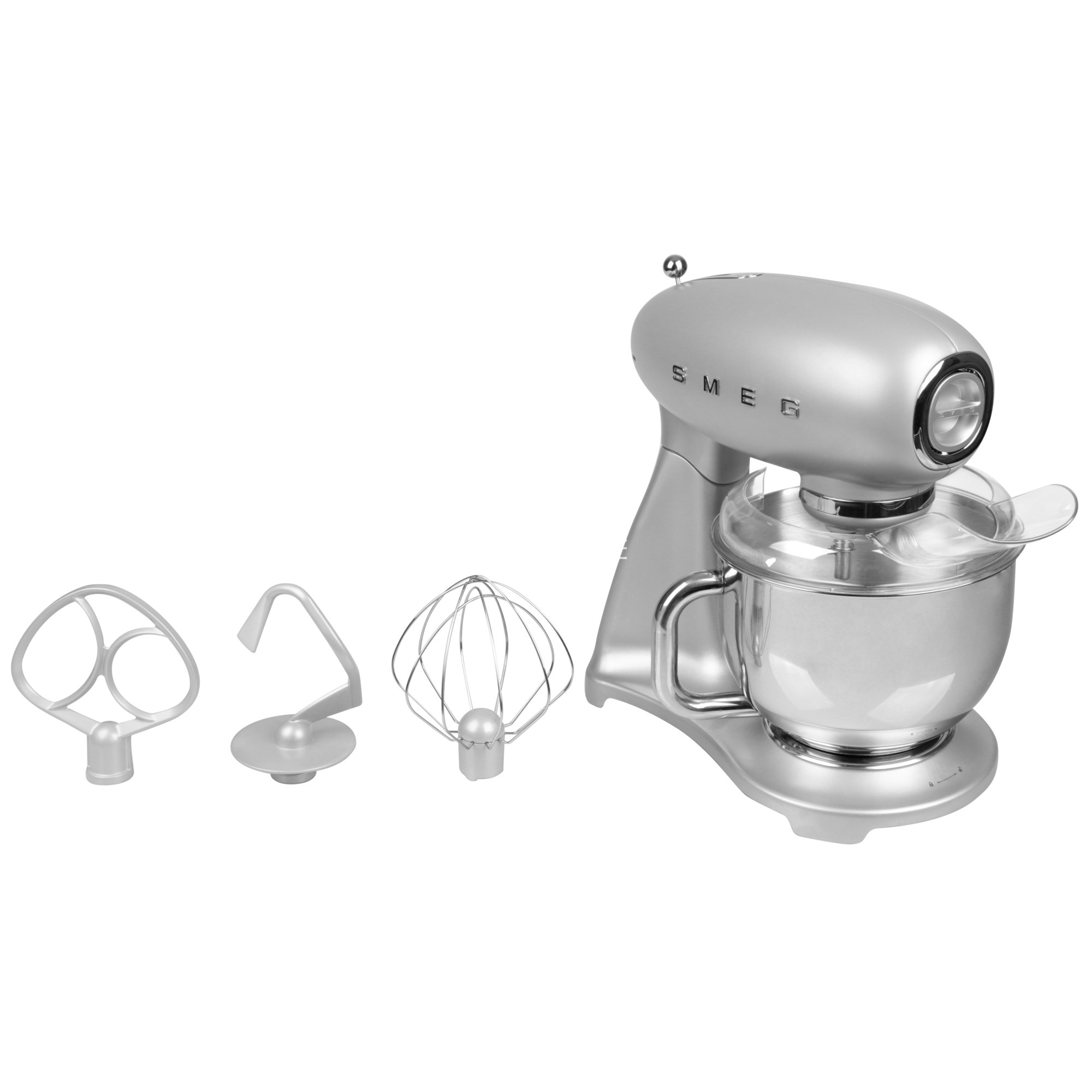 SMF01SVEU batidora Batidora de varillas Plata 800 W, Robot de cocina
