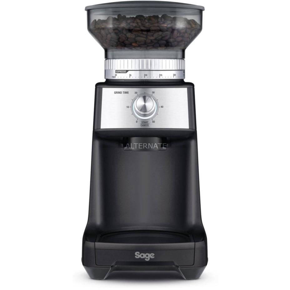 the Dose Control Pro Triturador con cuchillas Plata, Molinillo de café