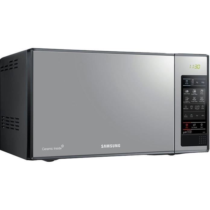 GE83X Encimera Microondas con grill 23L 800W Plata microondas