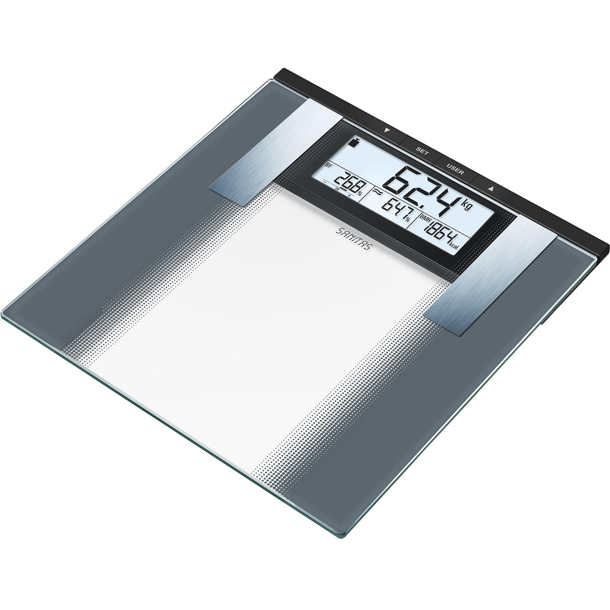 SBG 21 Báscula personal electrónica Plata, Balanza