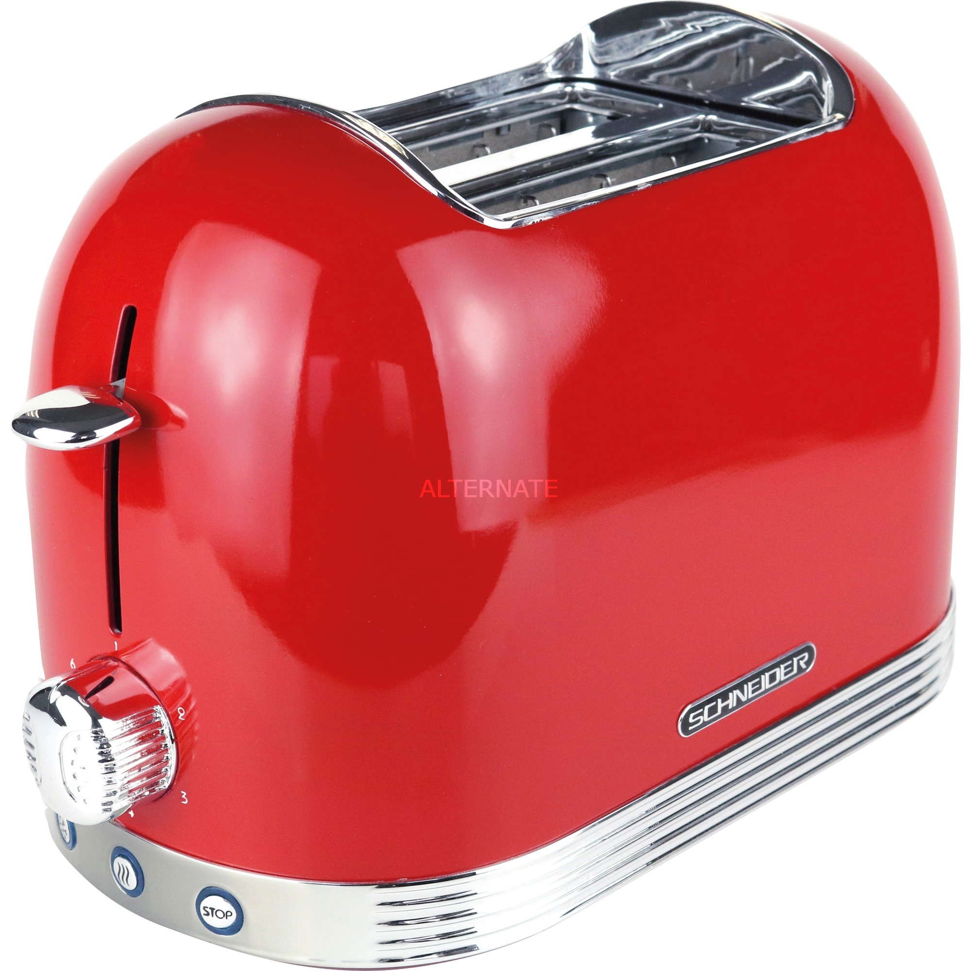 SL T2.2 FR tostadora 2 rebanada(s) Rojo 850 W