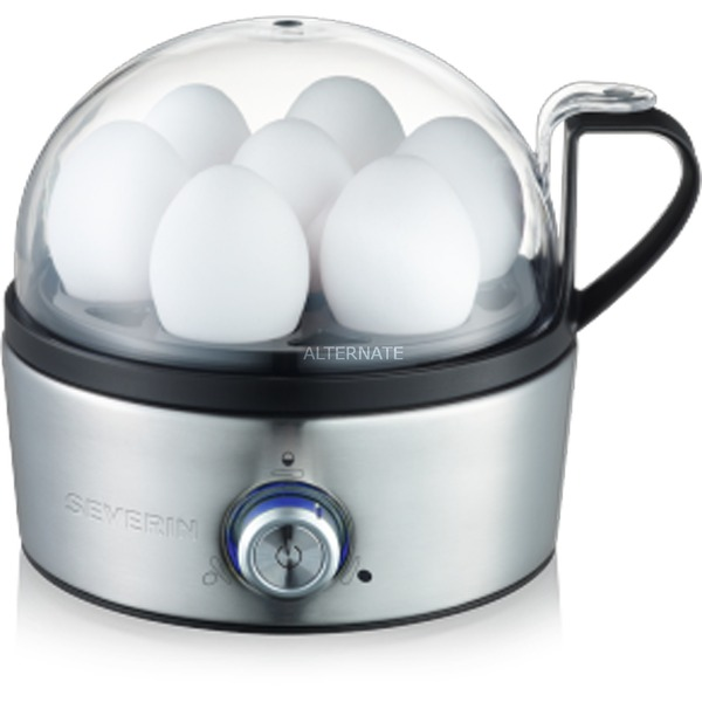 EK 3127 7eggs 400W Negro, Acero inoxidable cuecehuevos, Hervidor de huevos