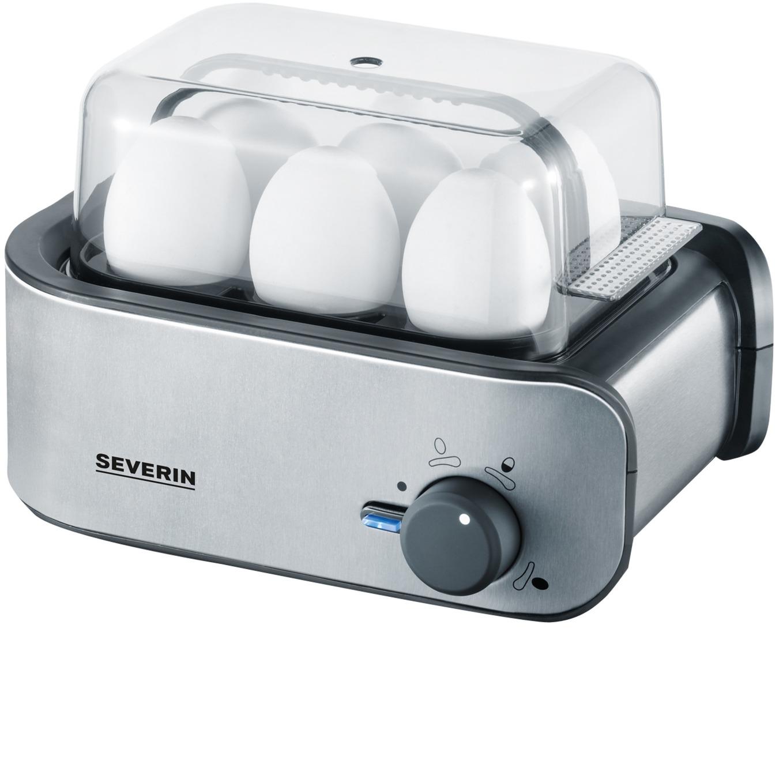 EK 3134 6eggs 400W Acero inoxidable cuecehuevos, Hervidor de huevos