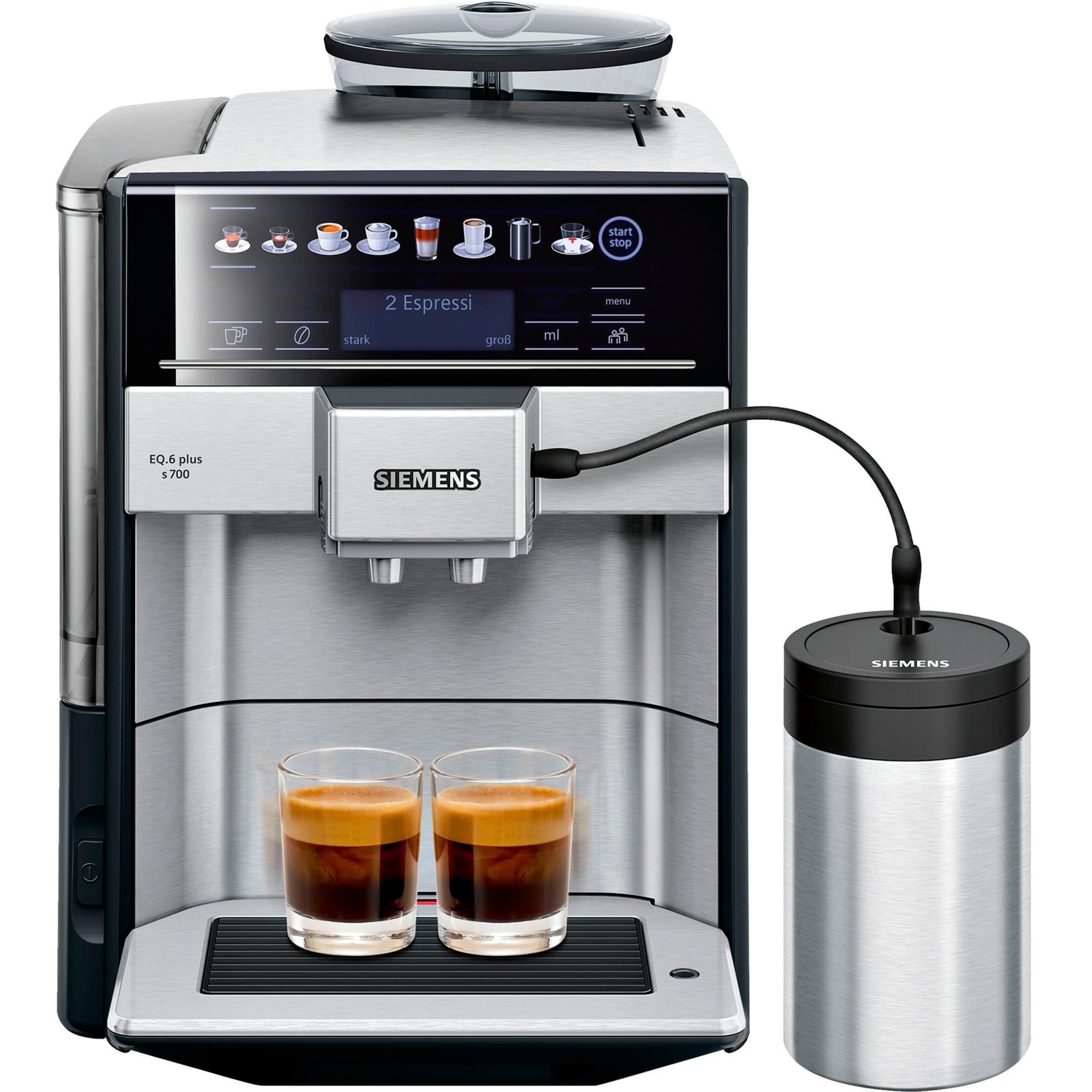 EQ.6 plus s700 Encimera Máquina espresso 1,7 L Totalmente automática, Superautomática