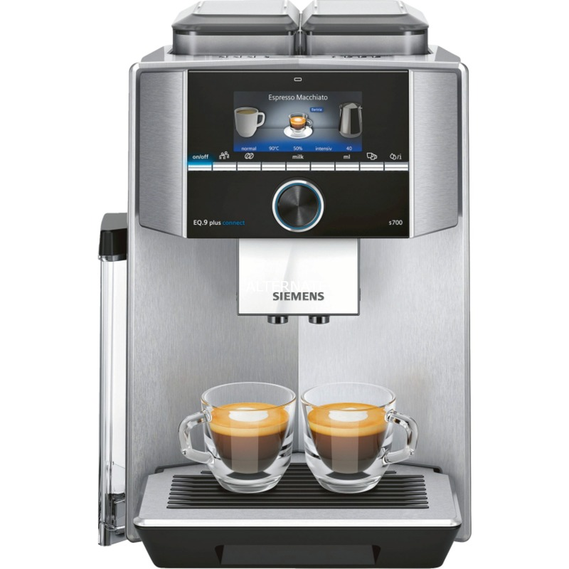EQ.9 TI9575X1DE cafetera eléctrica Independiente Máquina espresso Acero inoxidable 2,3 L Totalmente automática, Superautomática