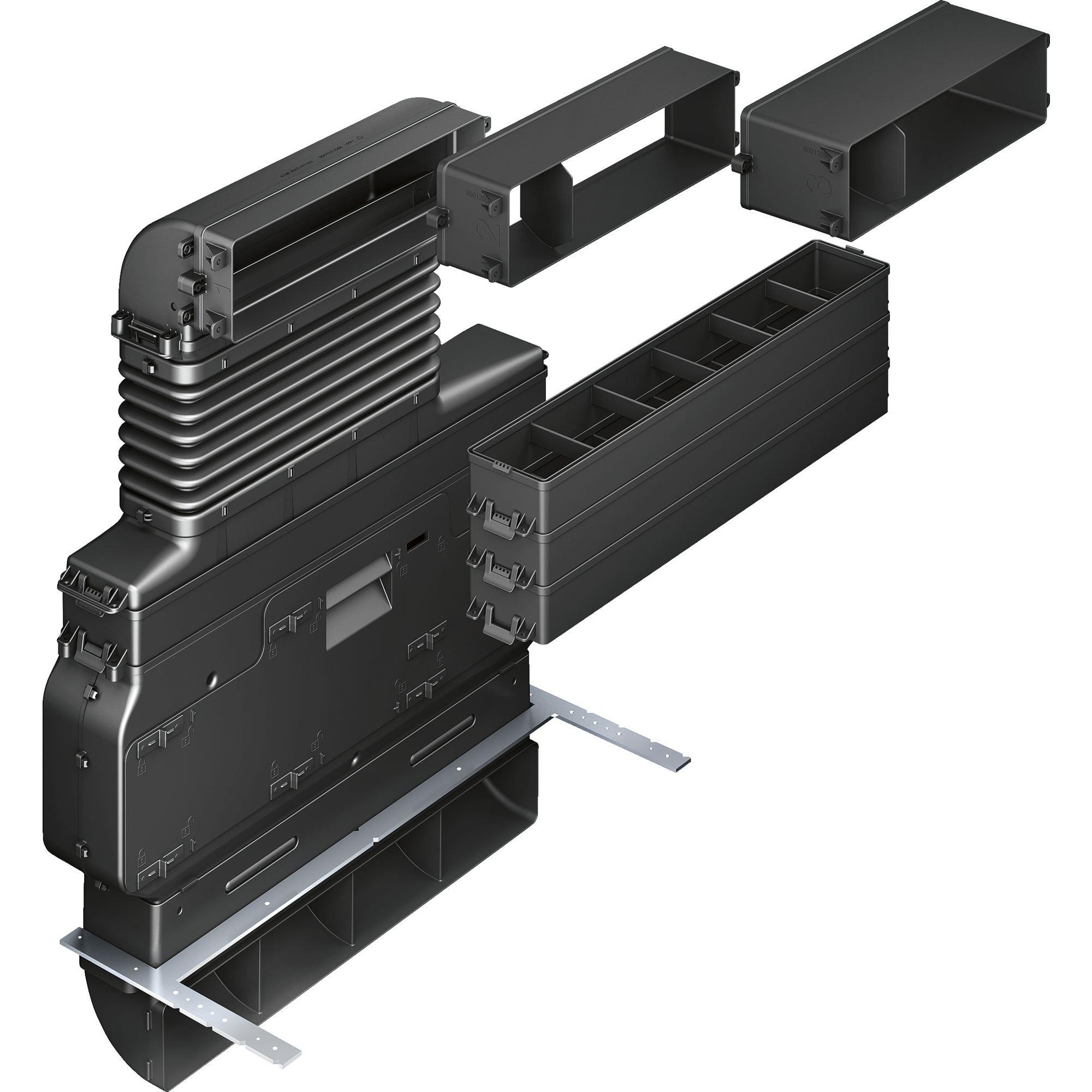 HZ381501 accesorio para campana de estufa Set de recirculación de aire para campana extractora, Set de modificación