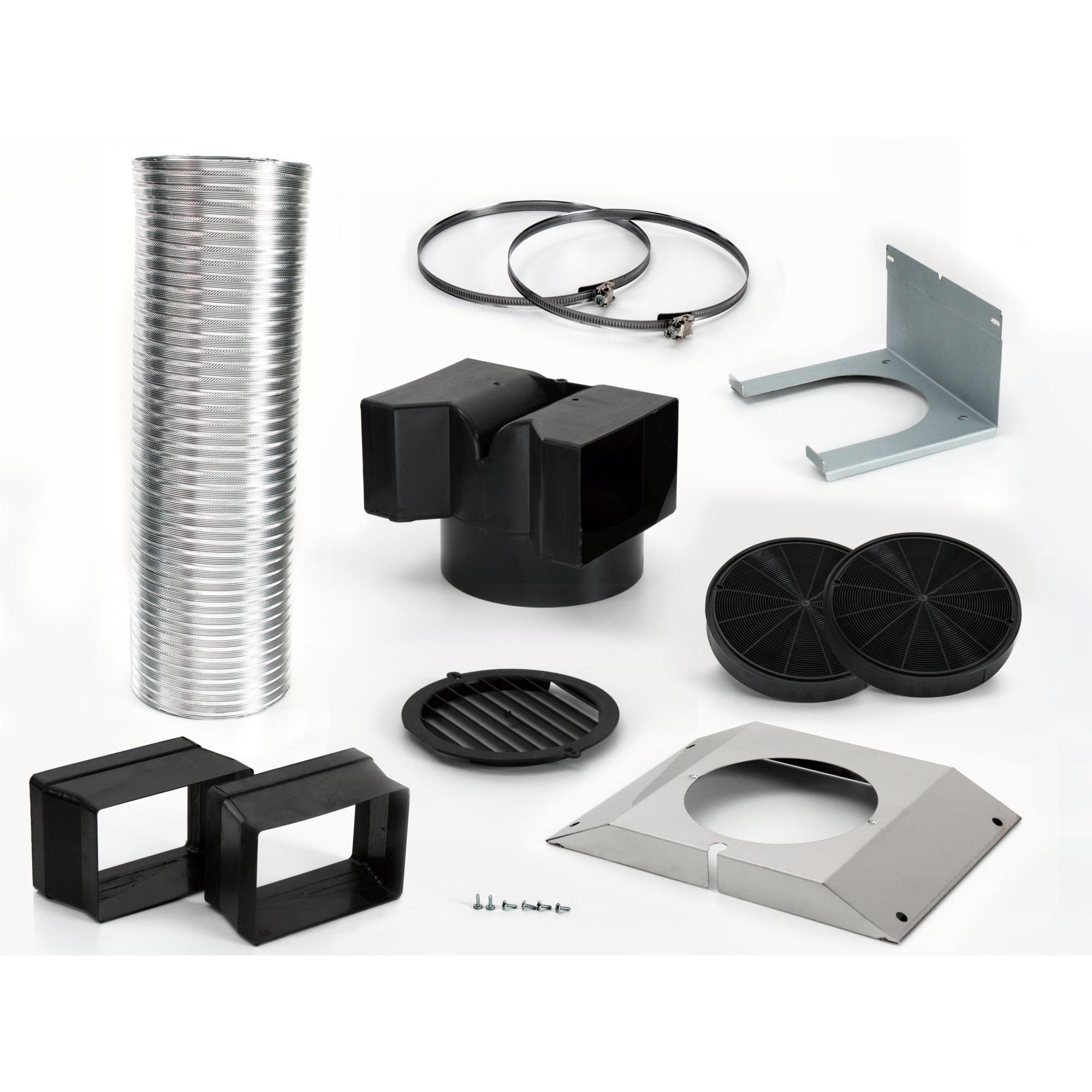 LZ55650 Kit de extractores accesorio para campana de estufa, Set de modificación