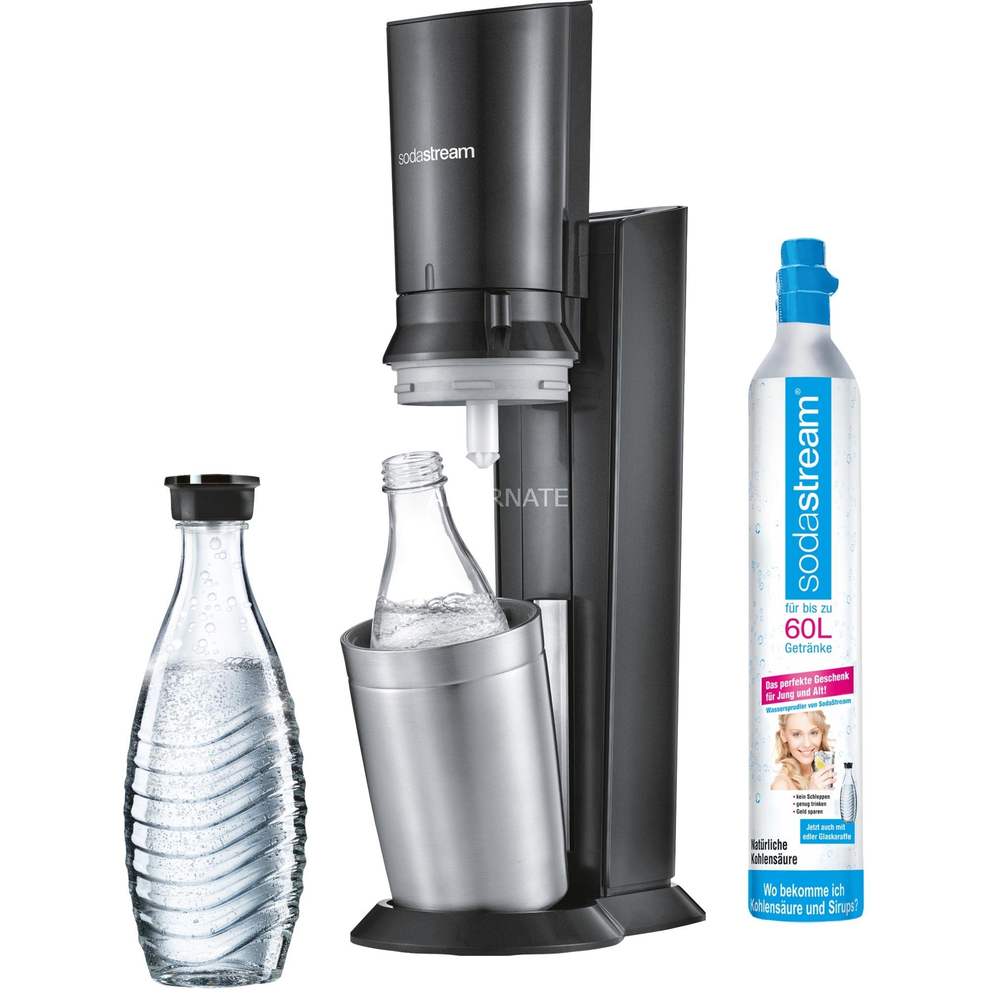 Crystal 2.0 Plata, Titanio, Gasificador de agua