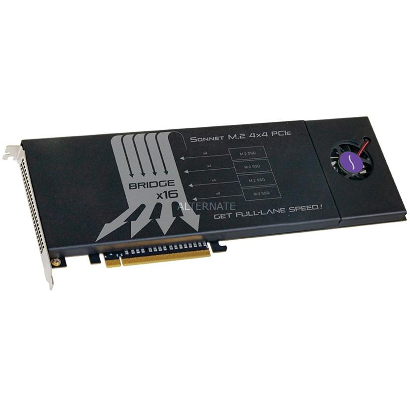 FUS-SSD-4X4-E3 tarjeta y adaptador de interfaz M.2 Interno, Tarjeta RAID