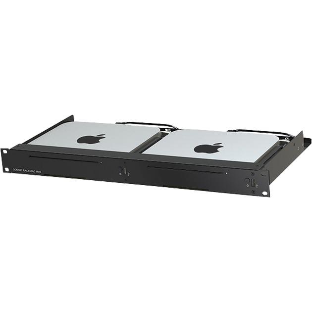 RackMac mini Negro carcasa de ordenador, Caja/Carcasa