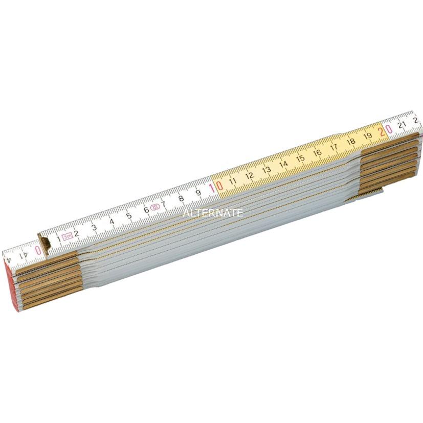 0-35-458 regla de plegamiento Madera 2 m, Bar