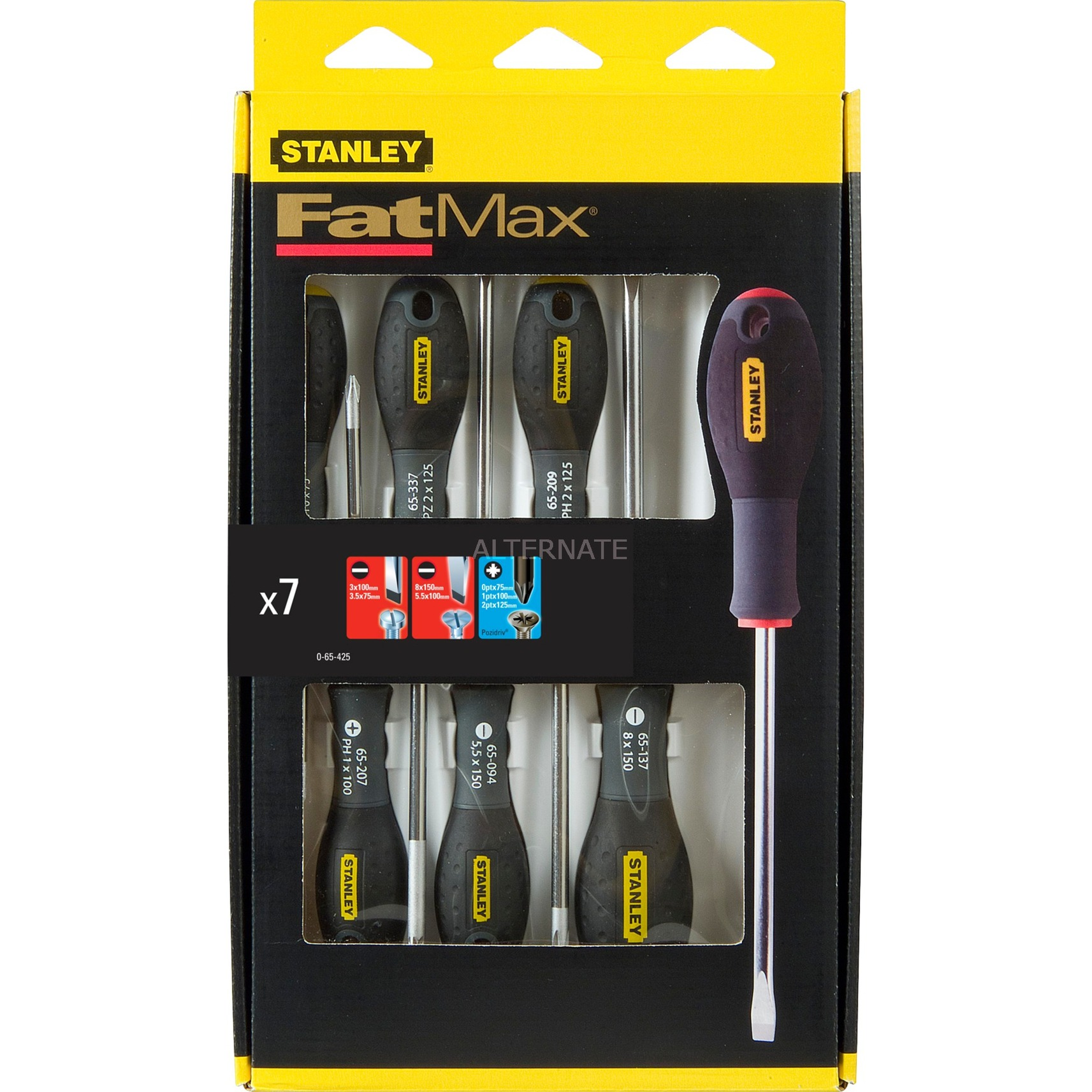 0-65-425 destornillador manual Screwdriver set Destornillador estándar