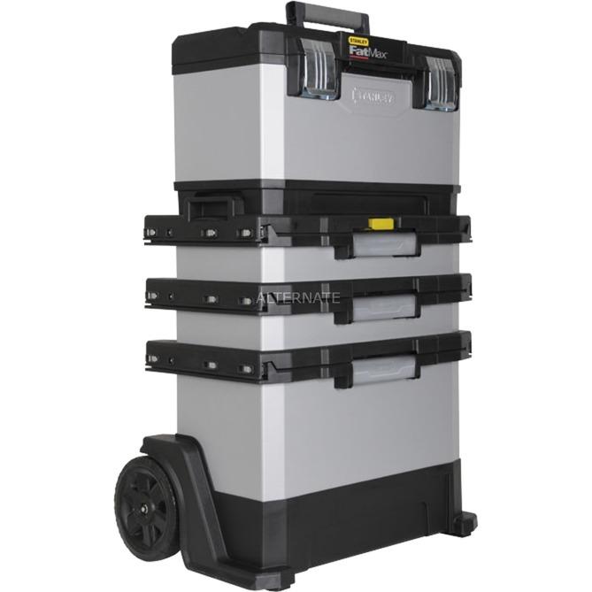 1-95-622 caja de herramientas Metal, De plástico Negro, Gris, Carros de herramienta