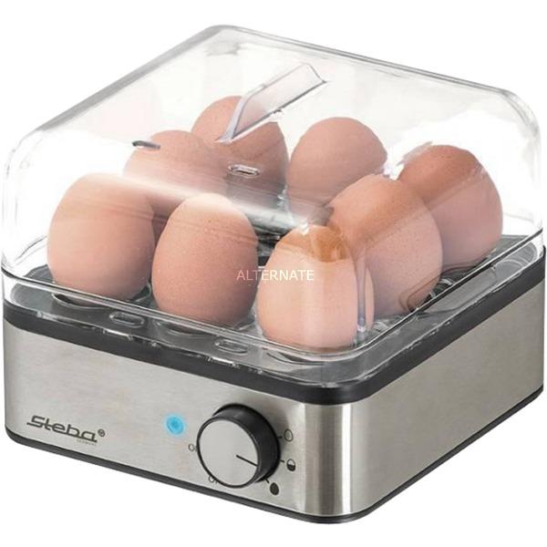 EK 5 8eggs 400W Negro, Acero inoxidable cuecehuevos, Hervidor de huevos
