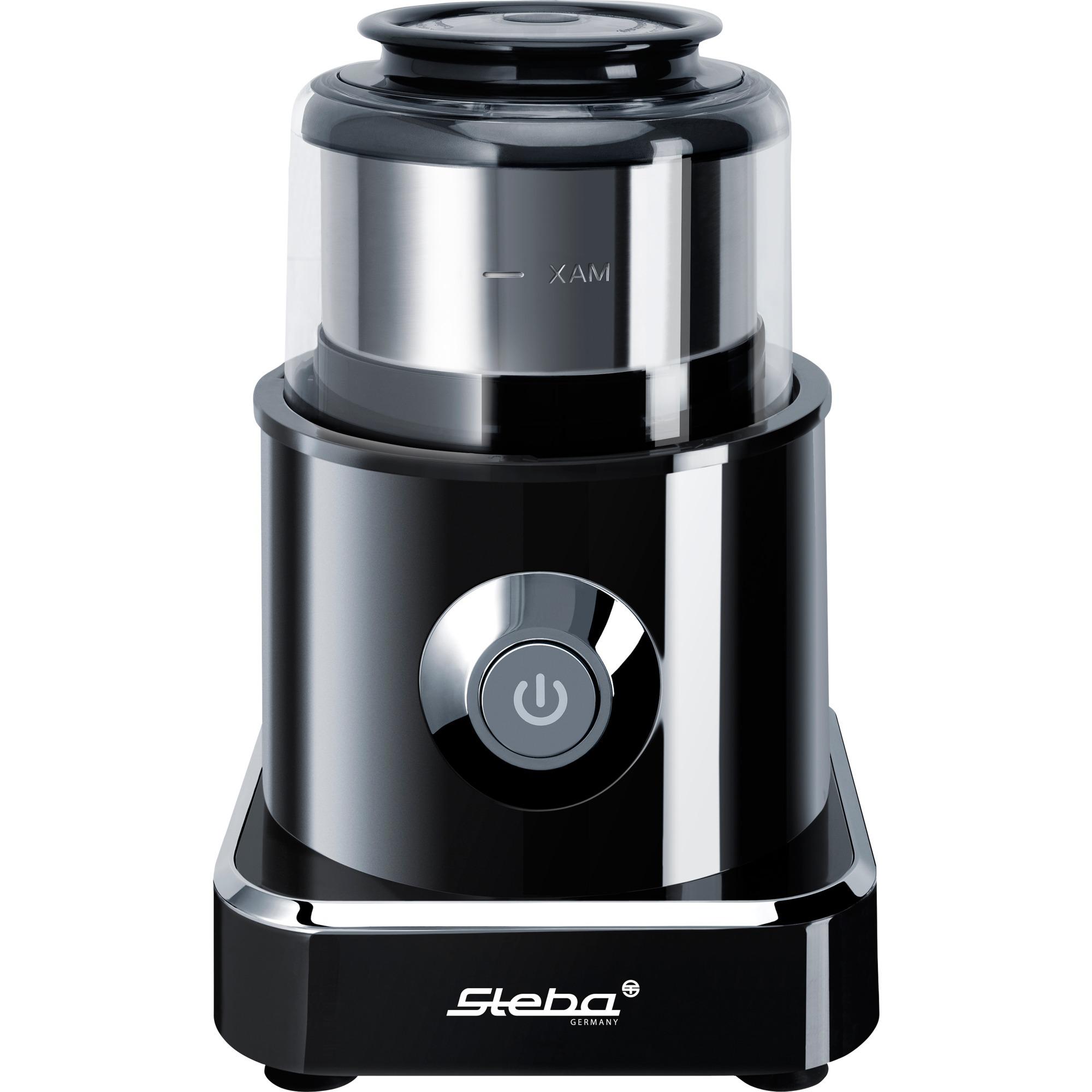 MG 500 picadora eléctrica de alimentos 0,5 L Negro, Acero inoxidable 500 W, Trituradora