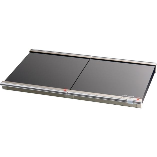 WP 1 270W Negro, Cromo calentador de alimentos, Calientaplatos