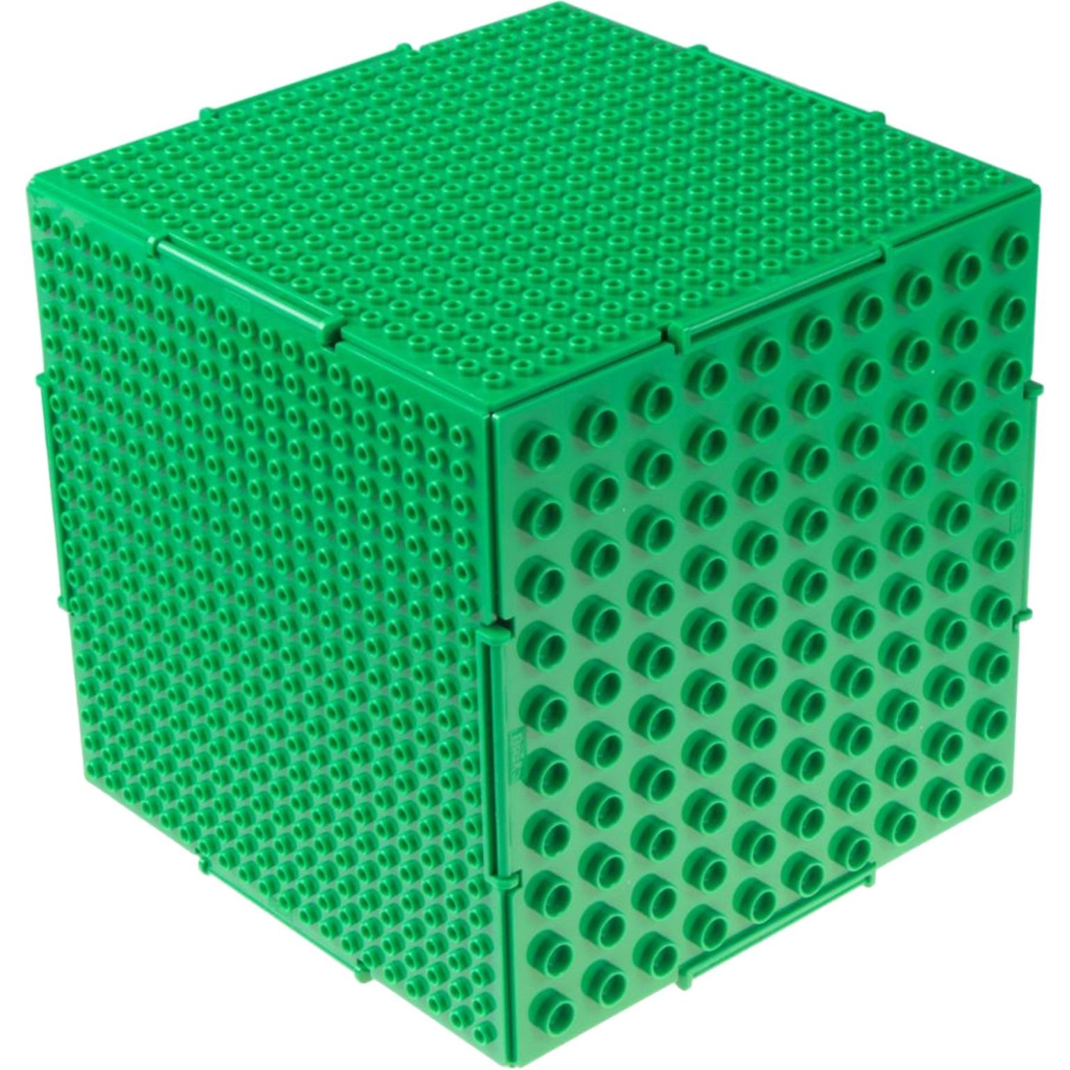 The Cube double sided Green, Juegos de construcción