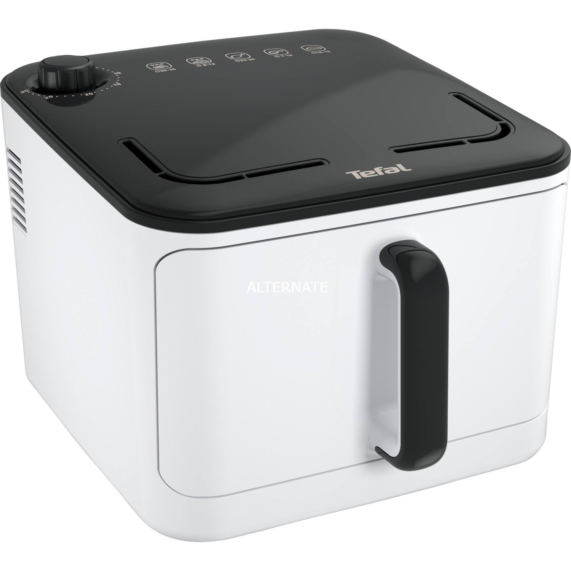 FX10A1 Solo Independiente Hot air fryer 1450W Negro, Color blanco freidora