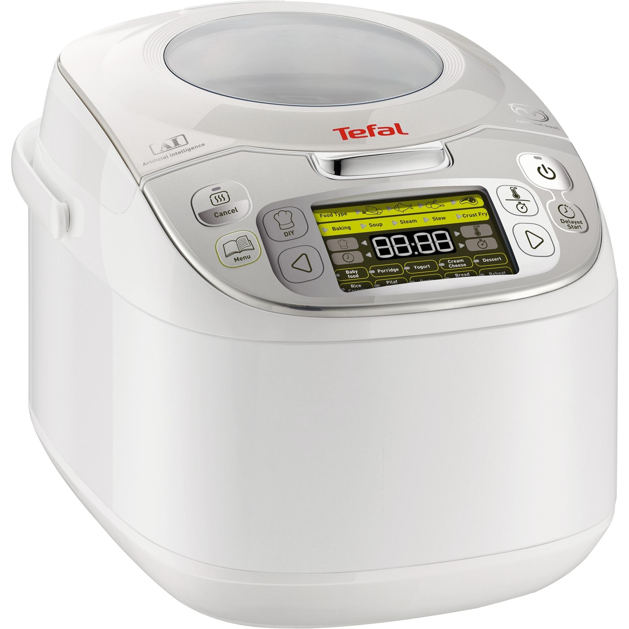 RK8121 1.8L 750W Plata, Color blanco olla multi-cocción, Cocina multi