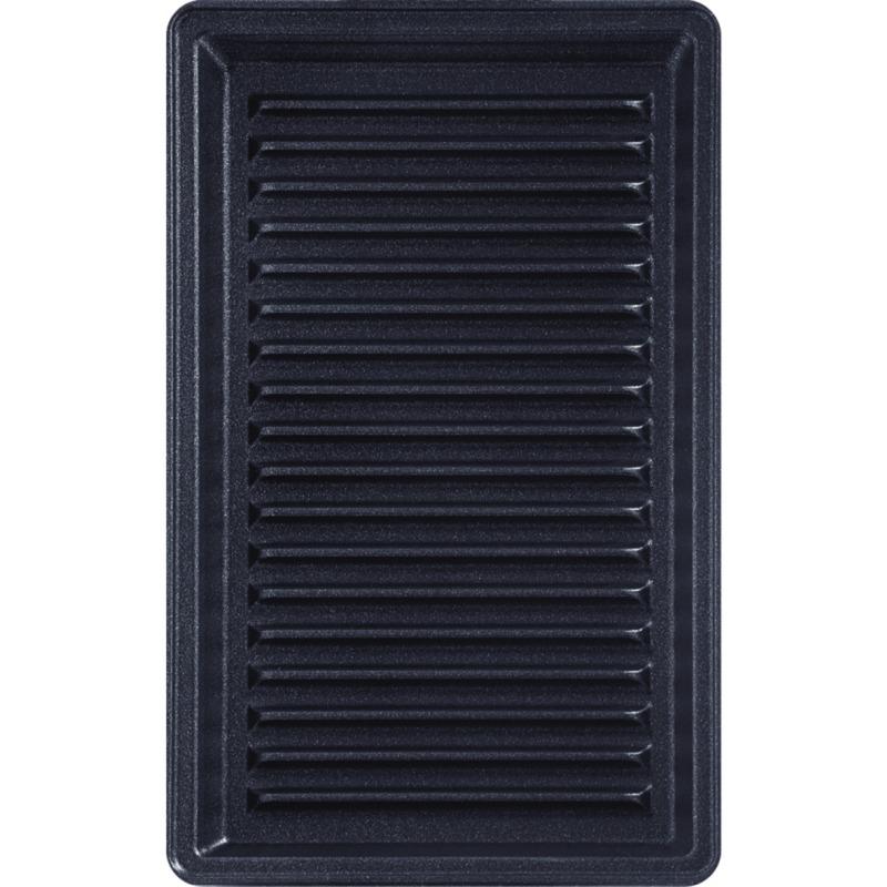 XA8003 sandwichera Negro, Placa de la parrilla