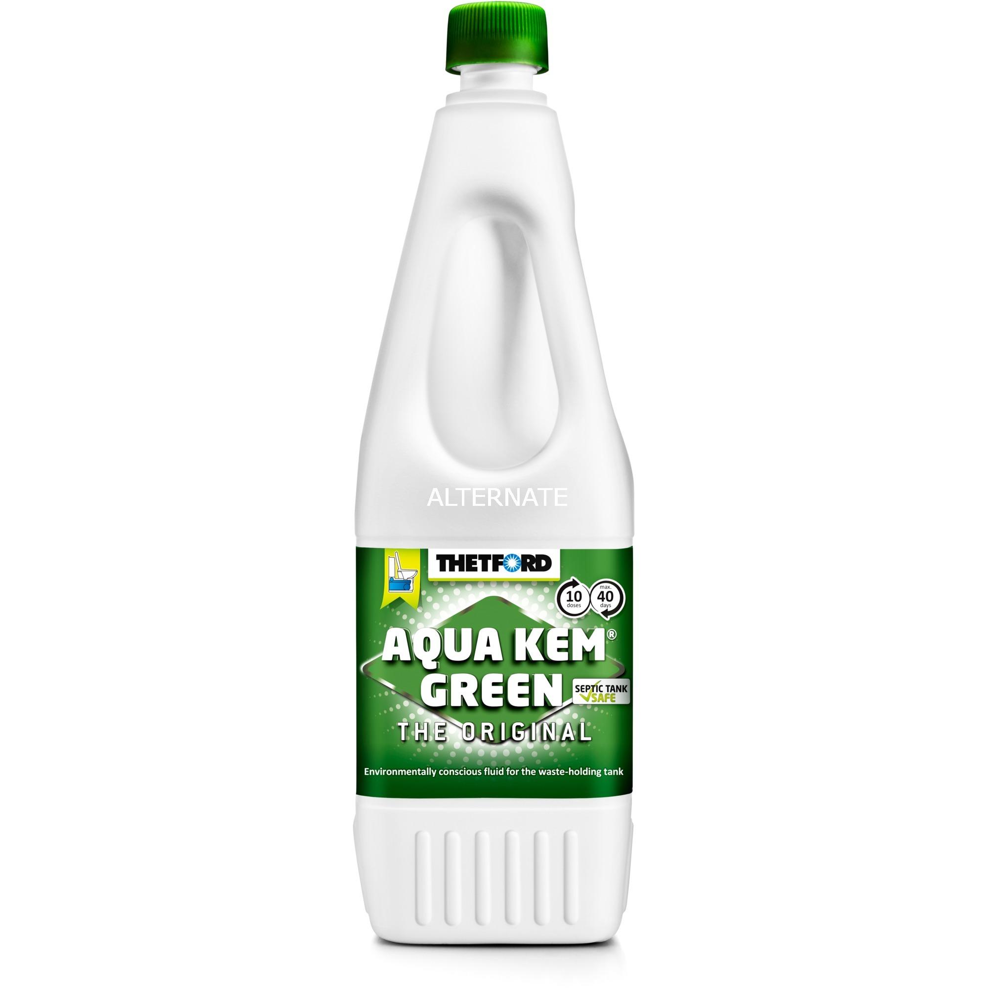 Aqua Kem Green Aditivo químico para inodoro 1,5 L, Aditivo sanitario