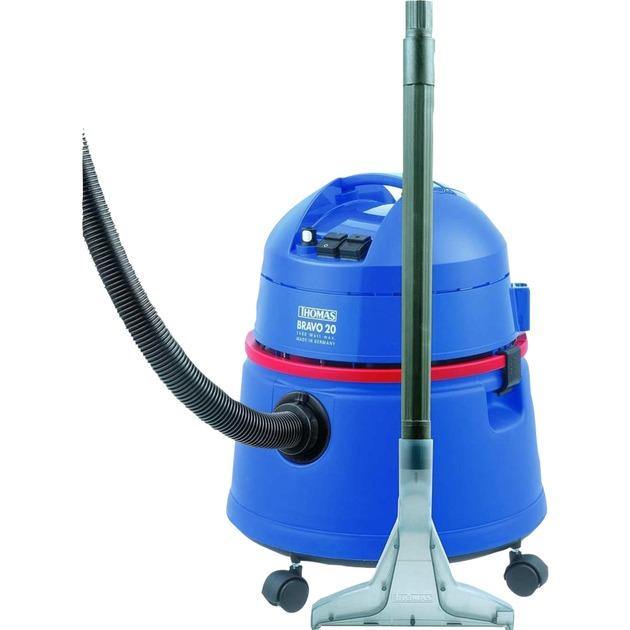 Bravo 20 máquina de limpieza de alfombras Azul, Aspiradora