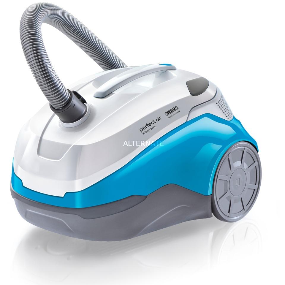 Perfect air allergy pure Aspiradora cilíndrica 1.8L 1700W Turquesa, Color blanco, Aspiradora de suelo