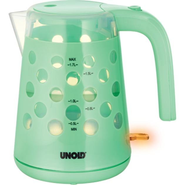 18542 1.7L 2200W Color menta tetera eléctrica, Hervidor de agua