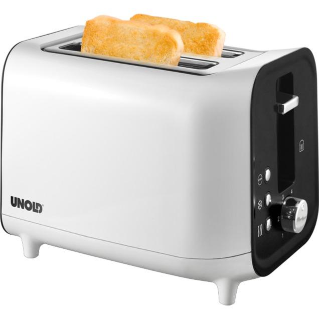 38410 2slice(s) 800W Color blanco tostadora