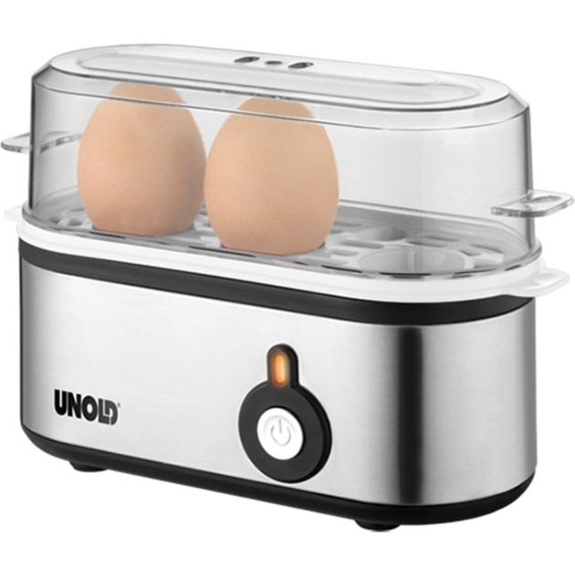38610 cuecehuevos 3 huevos 210 W Acero inoxidable, Hervidor de huevos