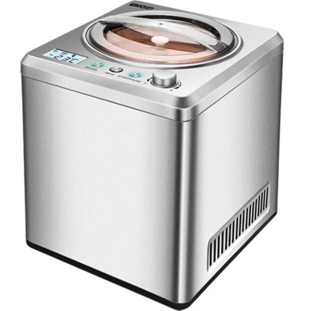 48872 máquina para helados Máquina de helados cremosos 2 L Acero inoxidable 180 W, Heladera