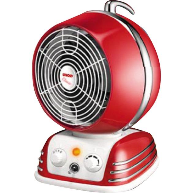 86203 Rojo 2000W Ventilador calefactor eléctrico, Termoventiladores