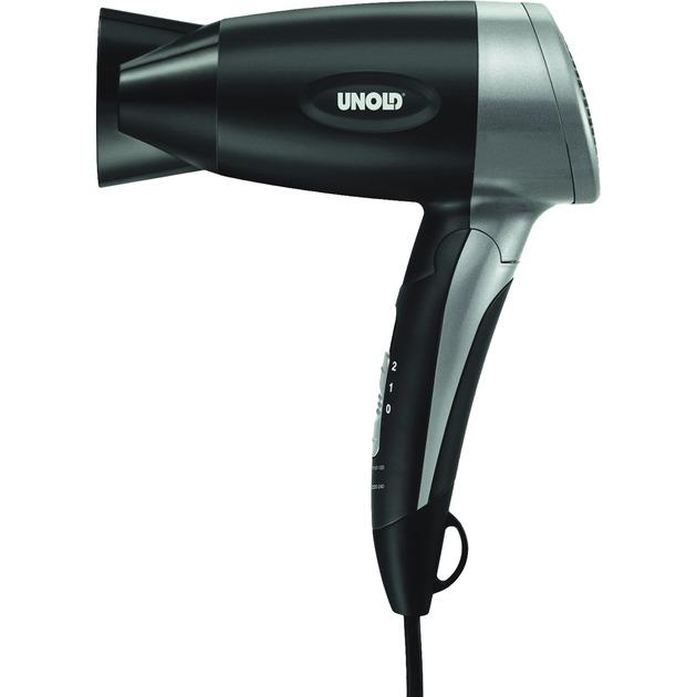 87206 1200W Negro, Plata secador, Secador de pelo