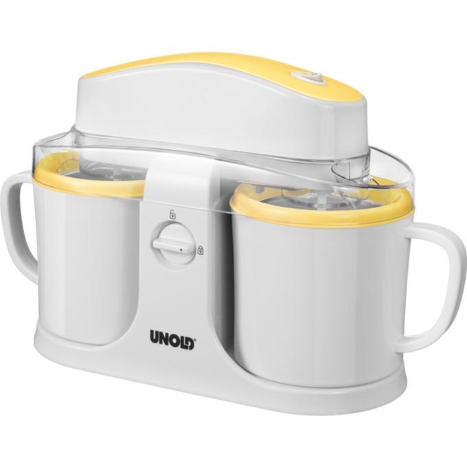 Duo Envase de heladera de gel 0,5 L Blanco, Amarillo 12 W