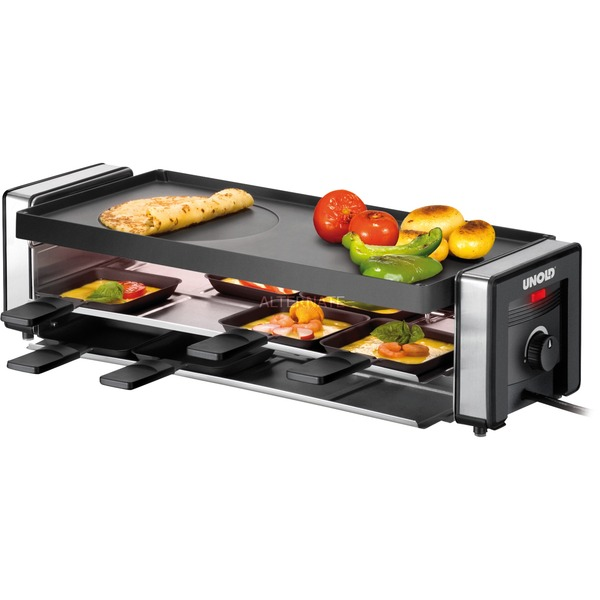 Finesse 1100W Negro raclett eléctrico, Raclette