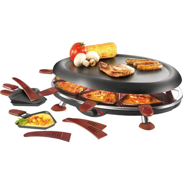 UNO 48775 1100W Negro raclett eléctrico, Raclette