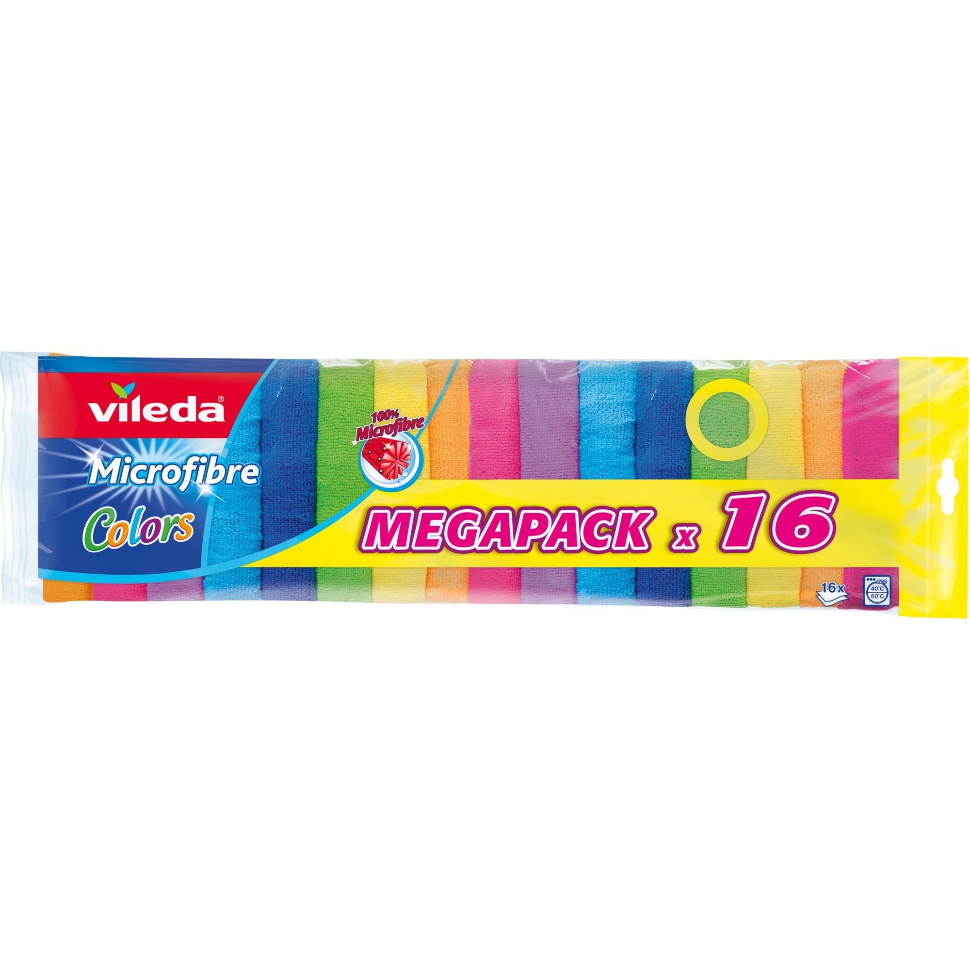 152874 trapo para limpiar Poliamida, Poliéster Multicolor 16 pieza(s)