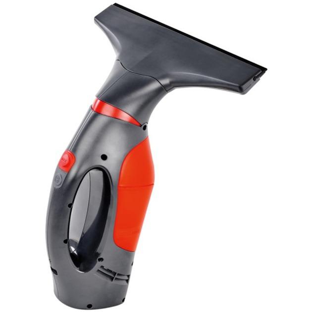 Windomatic Power limpiador eléctrico ventana Negro, Rojo 0,1 L, Aspiradora de ventanas