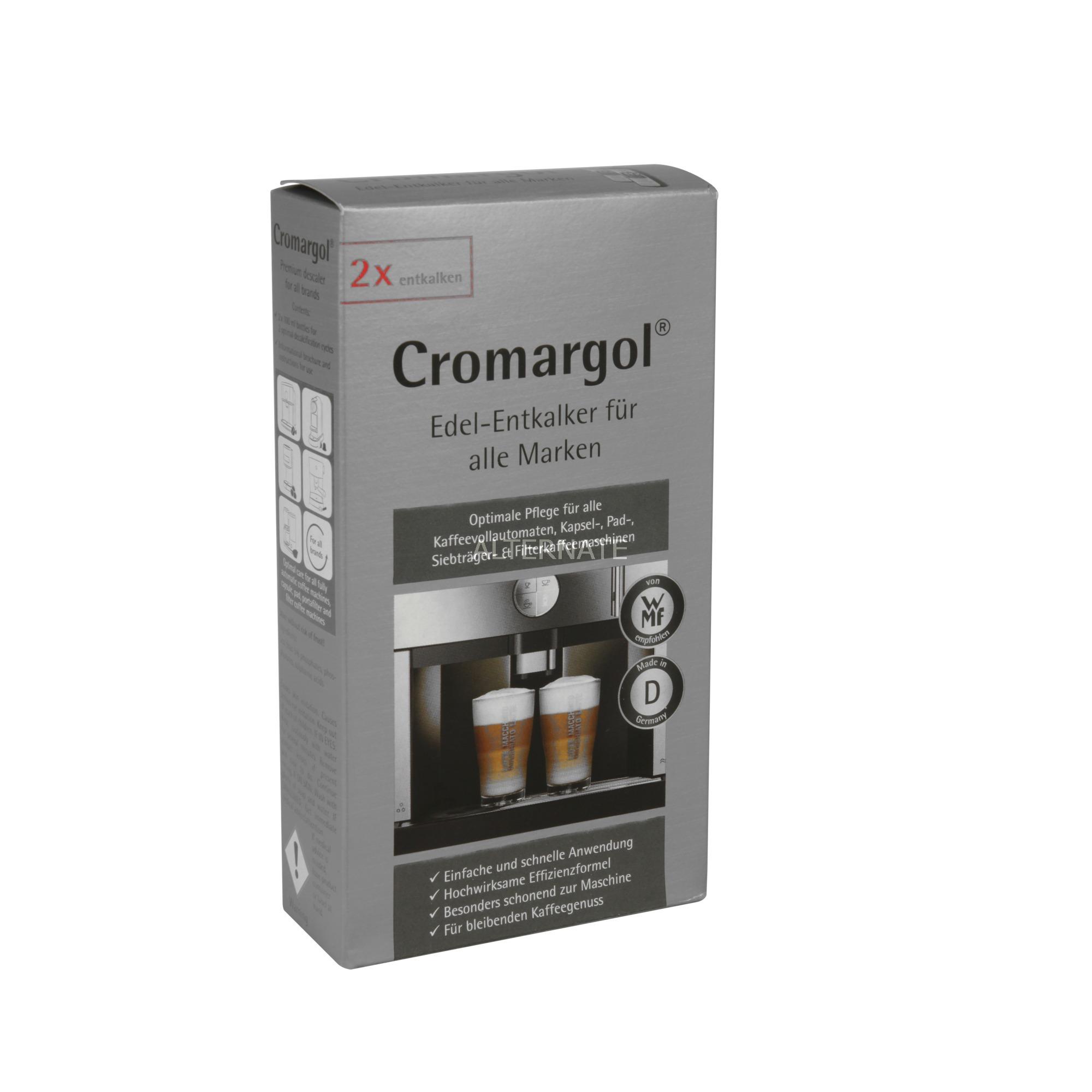 Descalcificador Cromargol 2x100ml