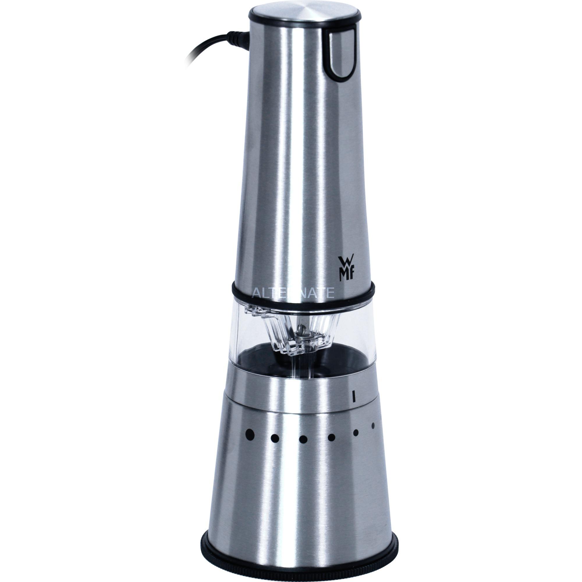 KÜCHENminis Acero inoxidable 24 W, Molinillo de café