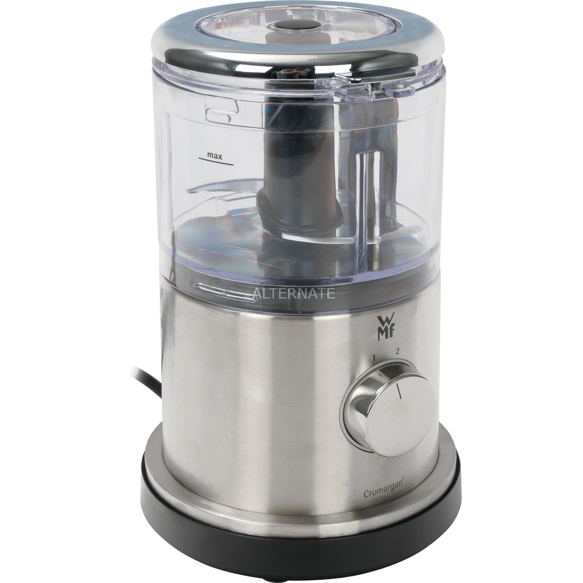 Lineo picadora eléctrica de alimentos 0,5 L Acero inoxidable 500 W, Trituradora