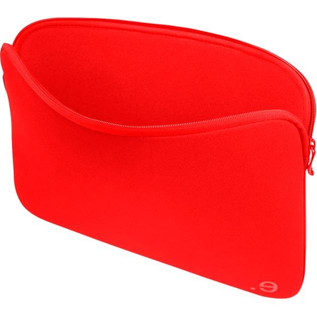 "LA robe 101284 12"" Funda Rojo maletines para portátil, Funda protectora"