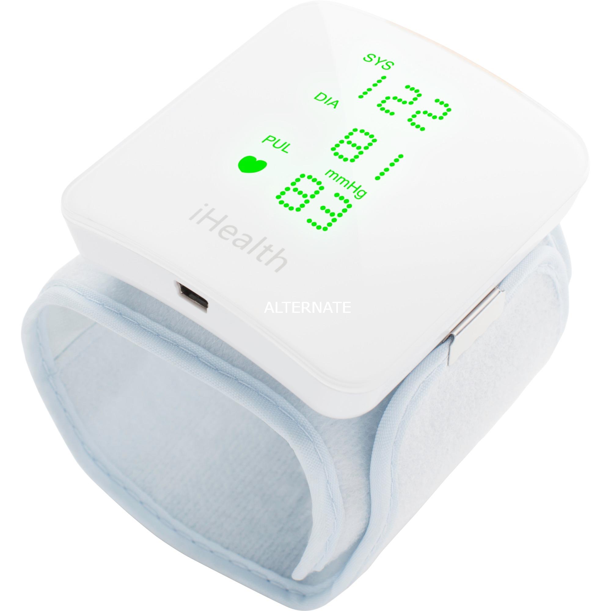 Wireless blood Pressure Wrist Monitor Antebrazo Automático, Esfigomanómetro